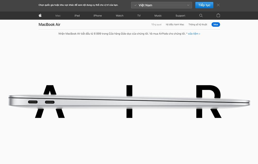 Khoảng trắng trong thiết kế website